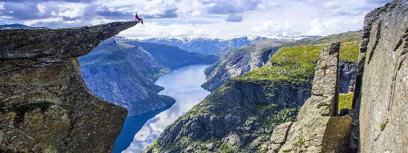 Норвегия, велотур и трекинг