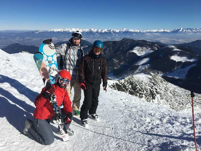 Ски-тур в Татры, Ясна (Липтовски-Микулаш)