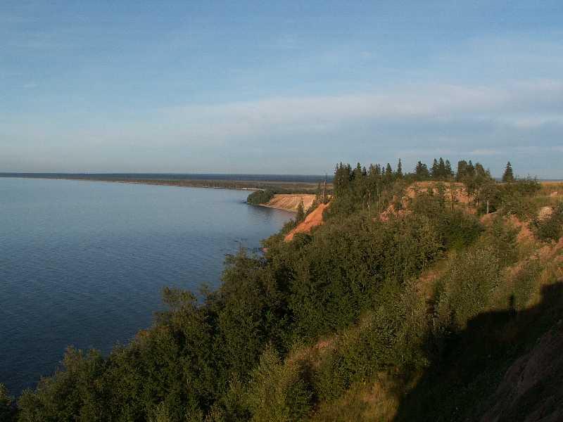 Арт-сейшн на Онежском озере.
