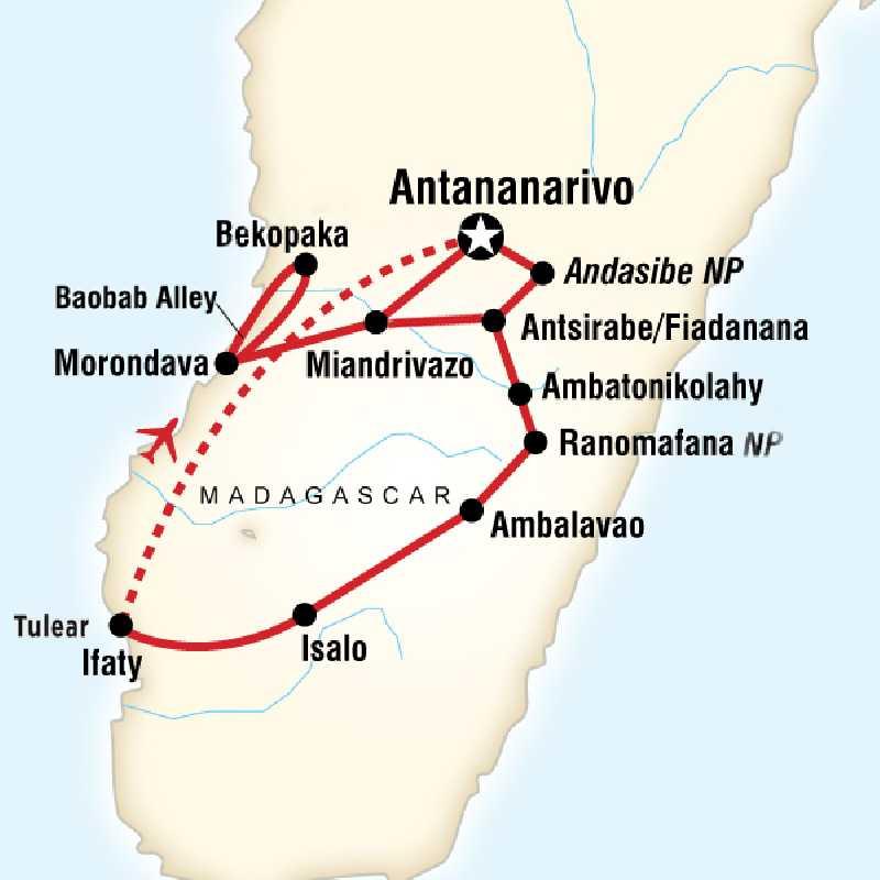 Путешествие по дикой природе Мадагаскара
